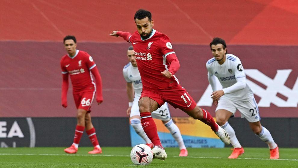 El Liverpool se impone a Bielsa en un partido loco