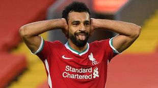 Un penalti de Rodrigo Moreno saca de un problema al Liverpool