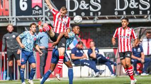 Ajax venció por la mínima al Sparta Rotterdam en el inicio de la...