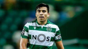 El jugador argentino Marcos Acuña (28).
