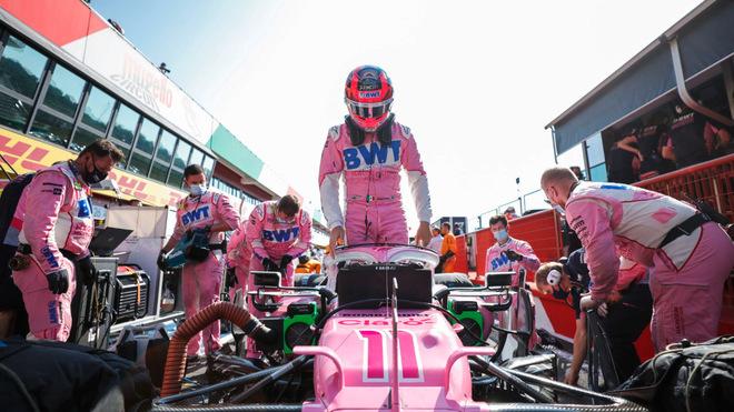 El mexicano terminó en quinto lugar en el Autódromo internacional de...