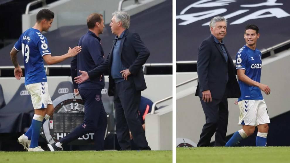 Ancelotti donne à James Rodriguez ce dont il avait besoin mais qu'il n'a jamais eu avec Zidane