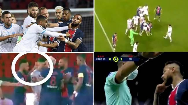 El partido de la vergüenza: cinco rojas, acusaciones de racismo, escupitajos...