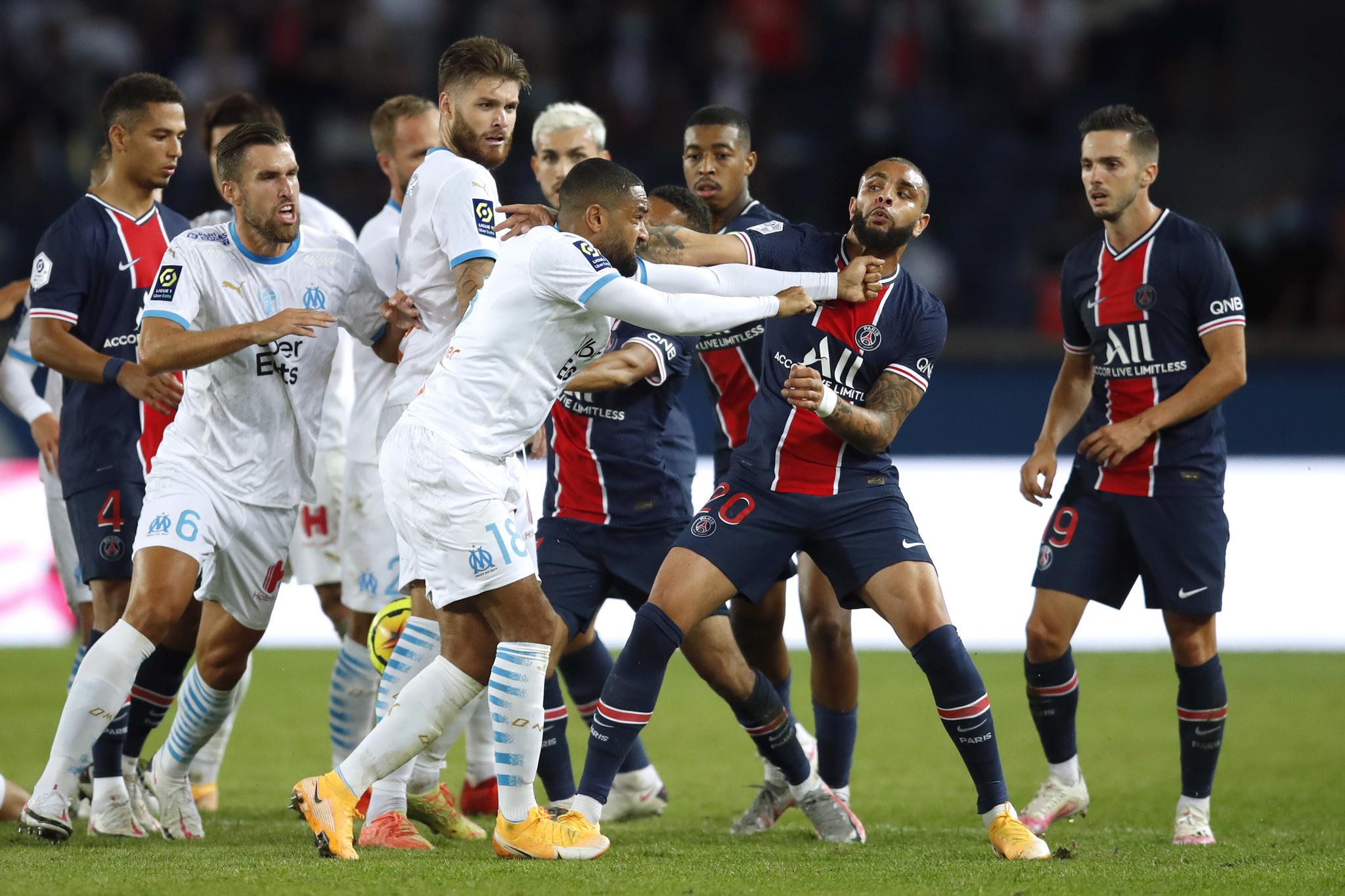 Psg Vs Marsella El Psg Pierde Ante El Marsella En Un Clasico Vergonzoso Con Cinco Expulsados Ligue 1