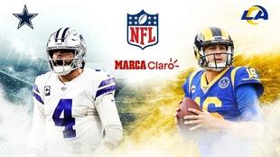 Cowboys vs Rams: El Sunday Night Football de la semana 1 de la NFL en...