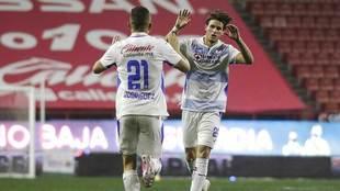 Giménez y Rodríguez le dieron forma al marcador.