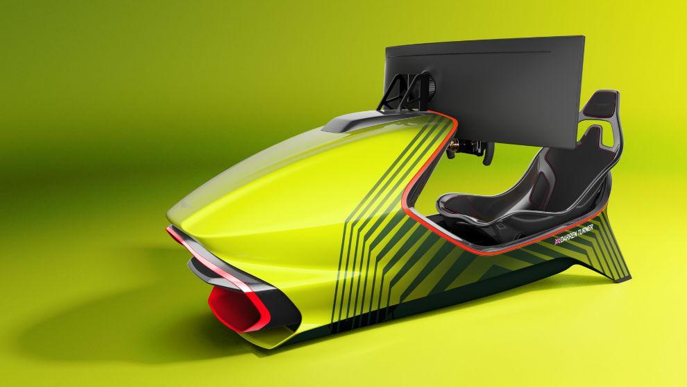 Aston Martin AMR C01: el exclusivo simulador que cuesta como un Porsche Cayman
