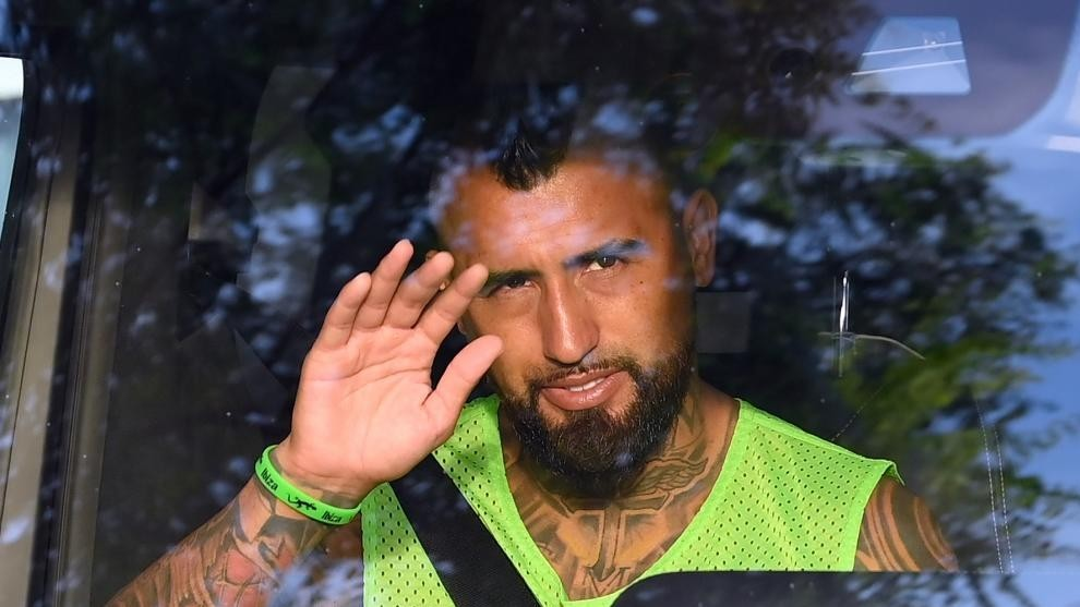Arturo Vidal waits for his future to be resolved
