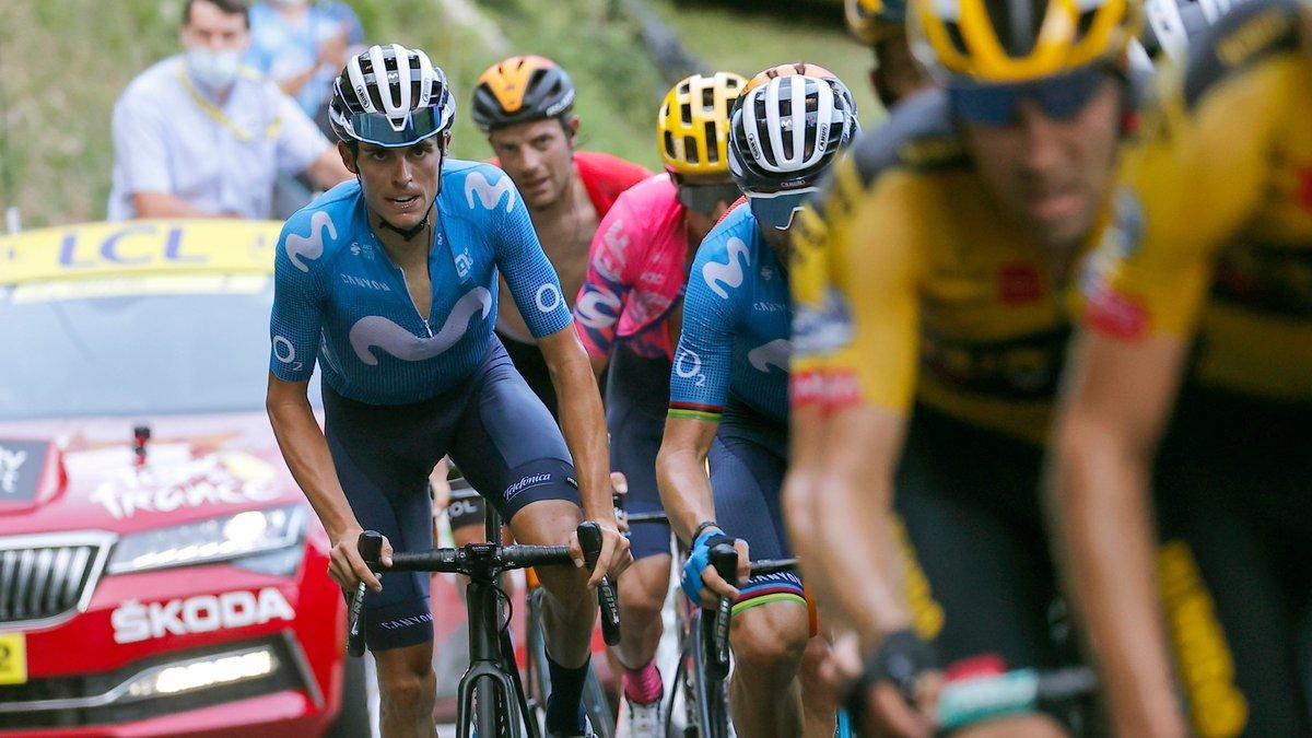 Mas y Valverde, con los mejores en montaña