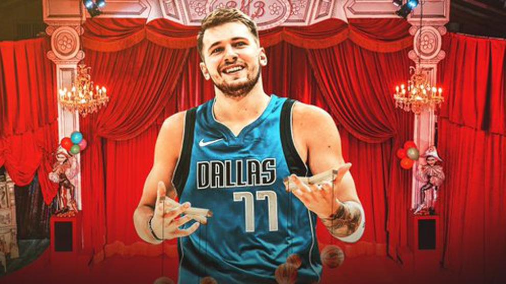 """Luka Doncic, """"el maestro que maneja los hilos"""" en la NBA"""