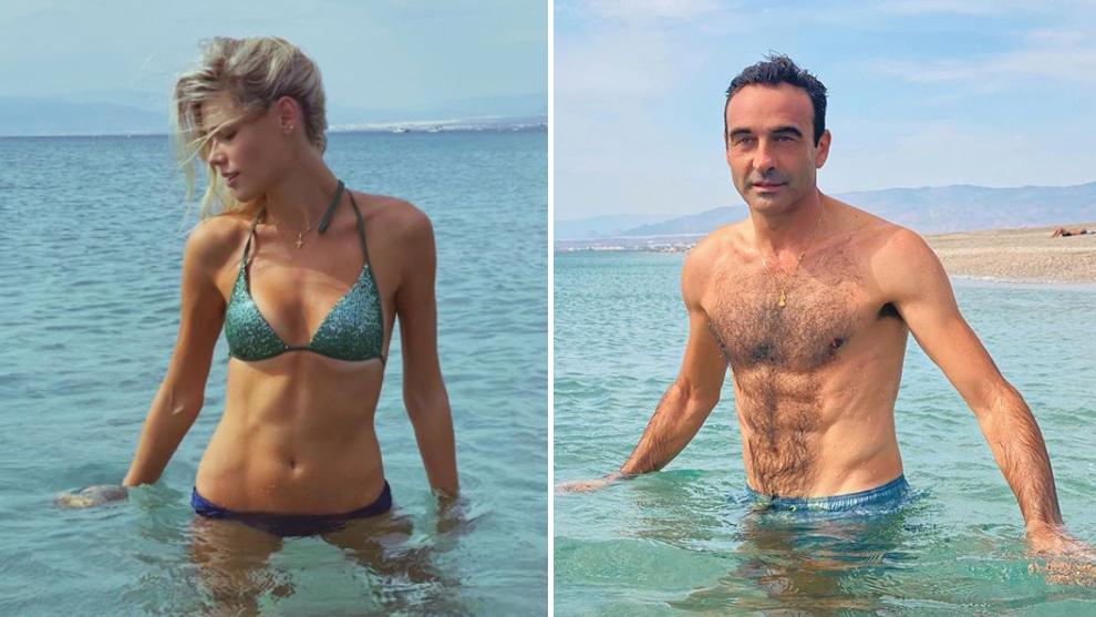 Ana Soria y Enrique Ponce posan en sus redes sociales