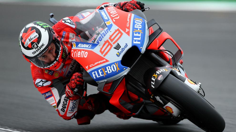 Lorenzo, en su etapa en Ducati.