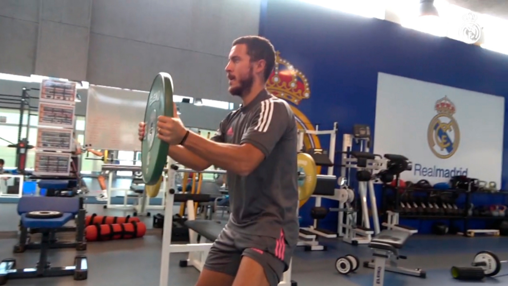 """El Corrillo: """"Hazard lo que tiene que hacer es entrenar y que juegue cuando esté bien"""""""