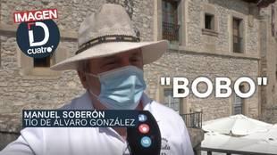 El tío de Álvaro González desvela lo que le dijo Neymar durante el partido