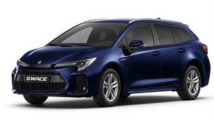 El Suzuki Swace que vendrá en invierno, en color Azul Dark Mica.