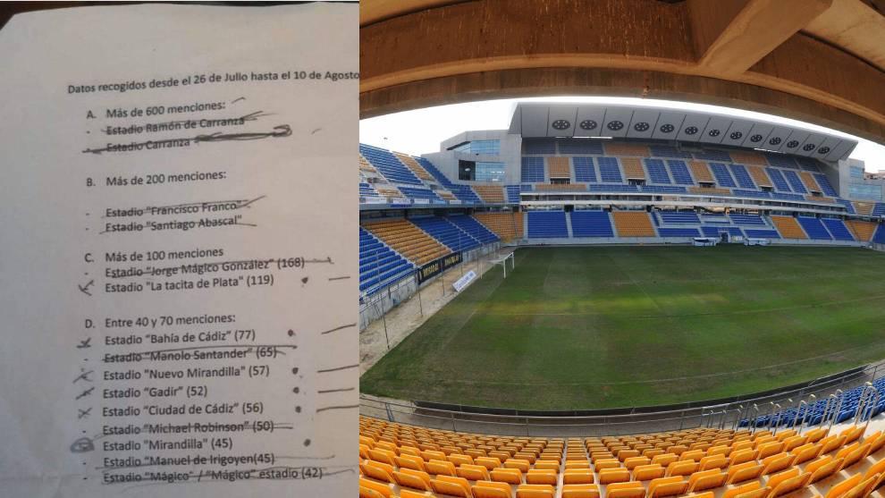 Cadiz stadium rename controversy: Estadio Francisco Franco and Estadio Santiago Abascal receive the most votes
