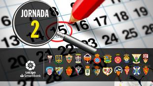 Partidos, horarios y dónde ver por television y online la jornada 2...