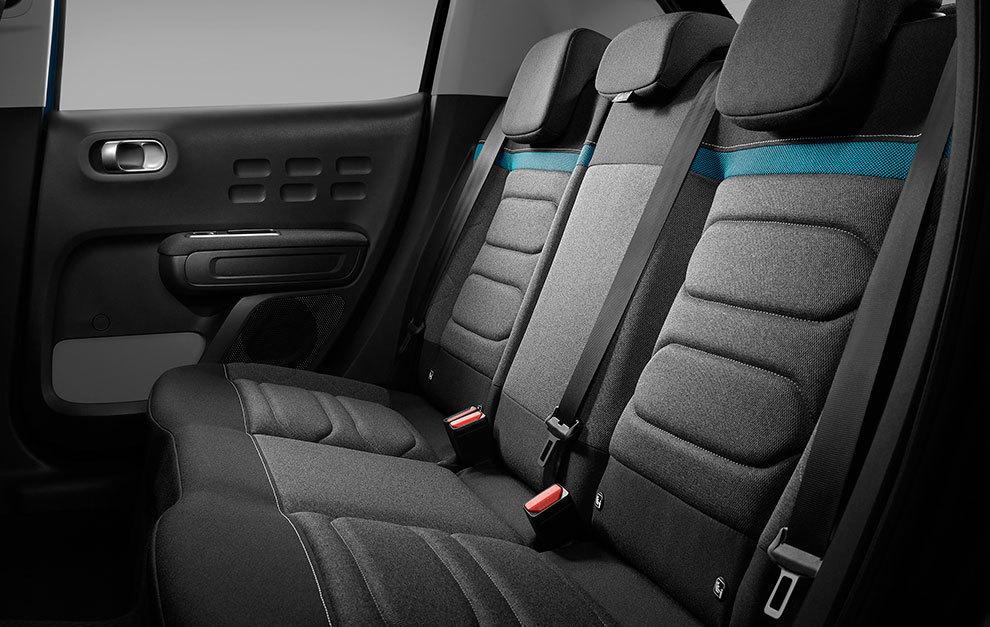 El rediseño de los asientos también afecta a los traseros.