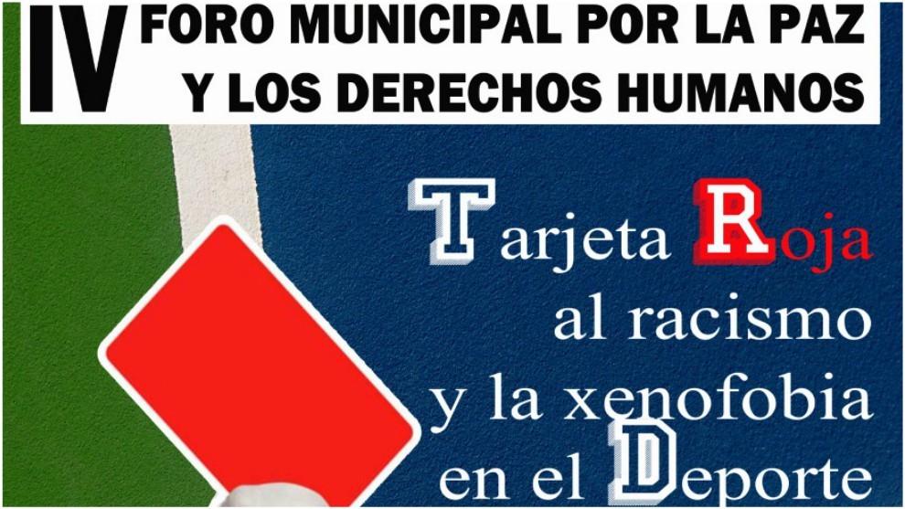 El cartel de presentación del IV Foro Municipal por la Paz y los...