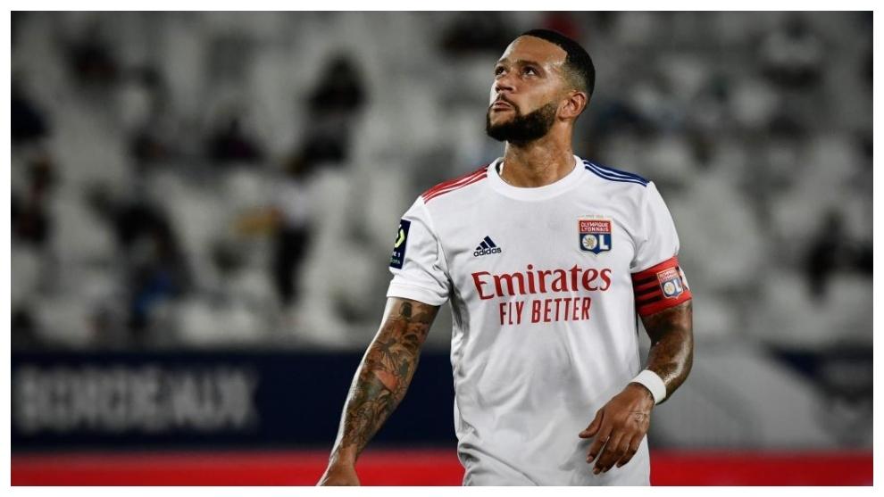 Un gol de Memphis 'Pichichi' Depay no evita la derrota del Lyon en Montpellier