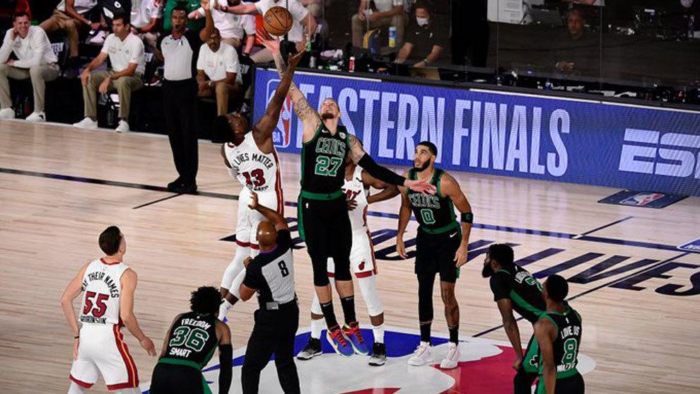 Boston Celtics vs Miami Heat: resumen, resultado y estadísticas del primer partido