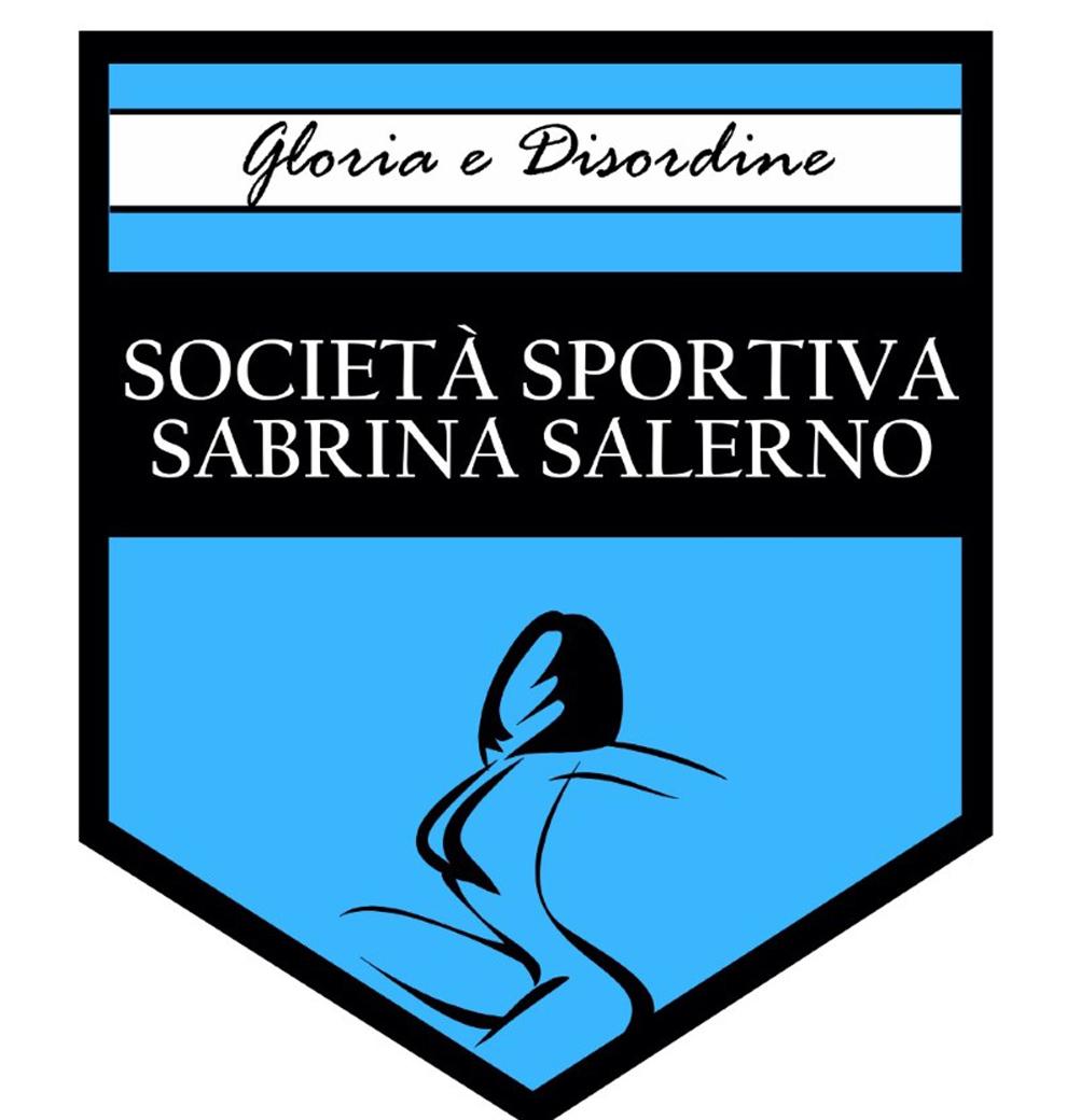 Escudo de la Società Sportiva Sabrina Salerno, el equipo de fútbol creado en Sevilla en honor a la cantante Sabrina Salerno