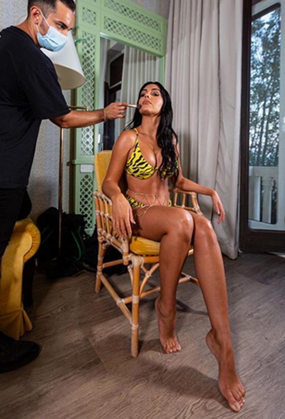La desproporción viral que muestra Georgina Rodríguez en una foto....