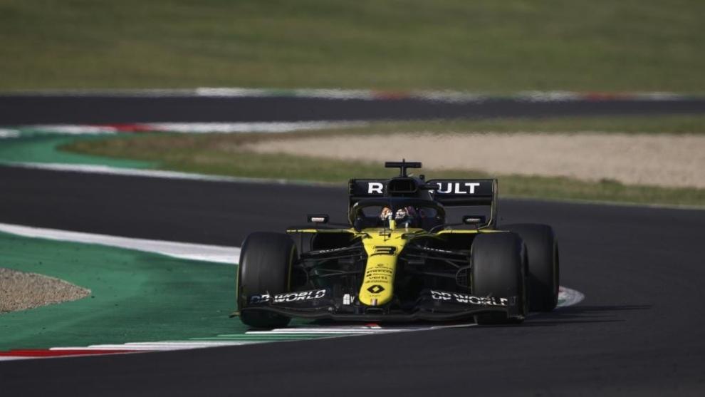 Daniel Ricciardo en Mugello.