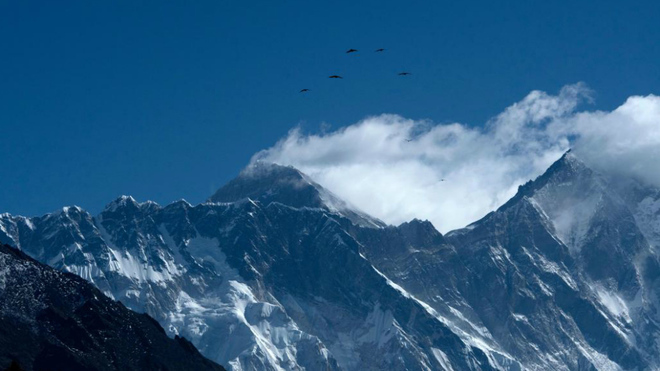 El Everest, el gran reclamo de Nepal.