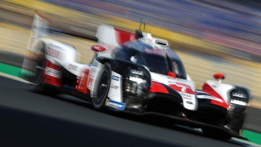 Toyota, de nuevo favorito para el 'hat-trick' en Le Mans.