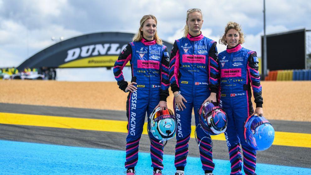 El Le Mans más femenino: dos equipos íntegros de mujeres en la pelea