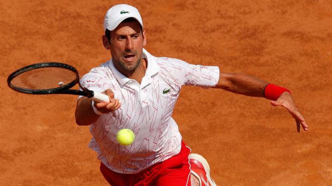 Plácido debut de Djokovic en Roma en su regreso tras el pelotazo del US Open