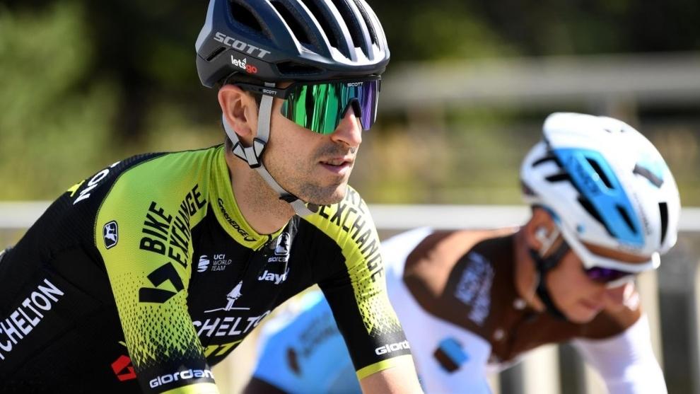 Mikel Nieve durante una etapa de este Tour de Francia