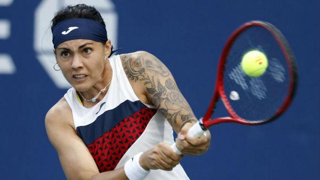 Aliona Bolsova, en el reciente US Open.