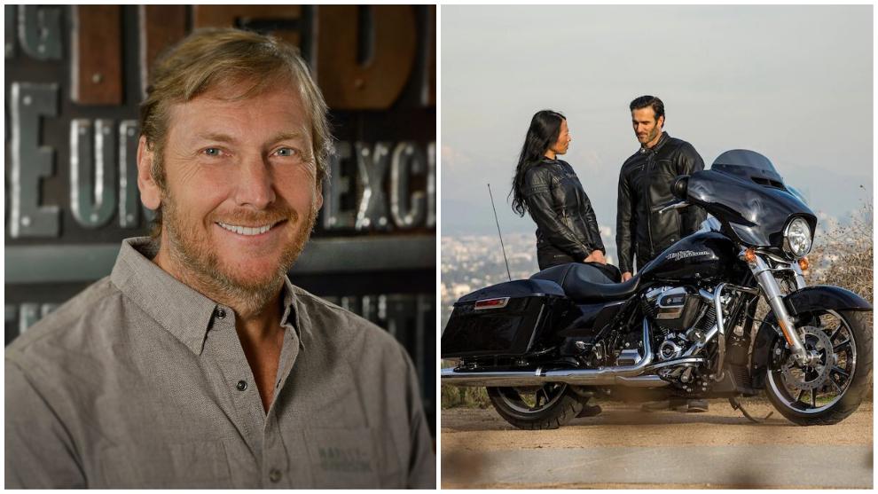 Jochen Zeitz, presidente y director ejecutivo de Harley-Davidson.