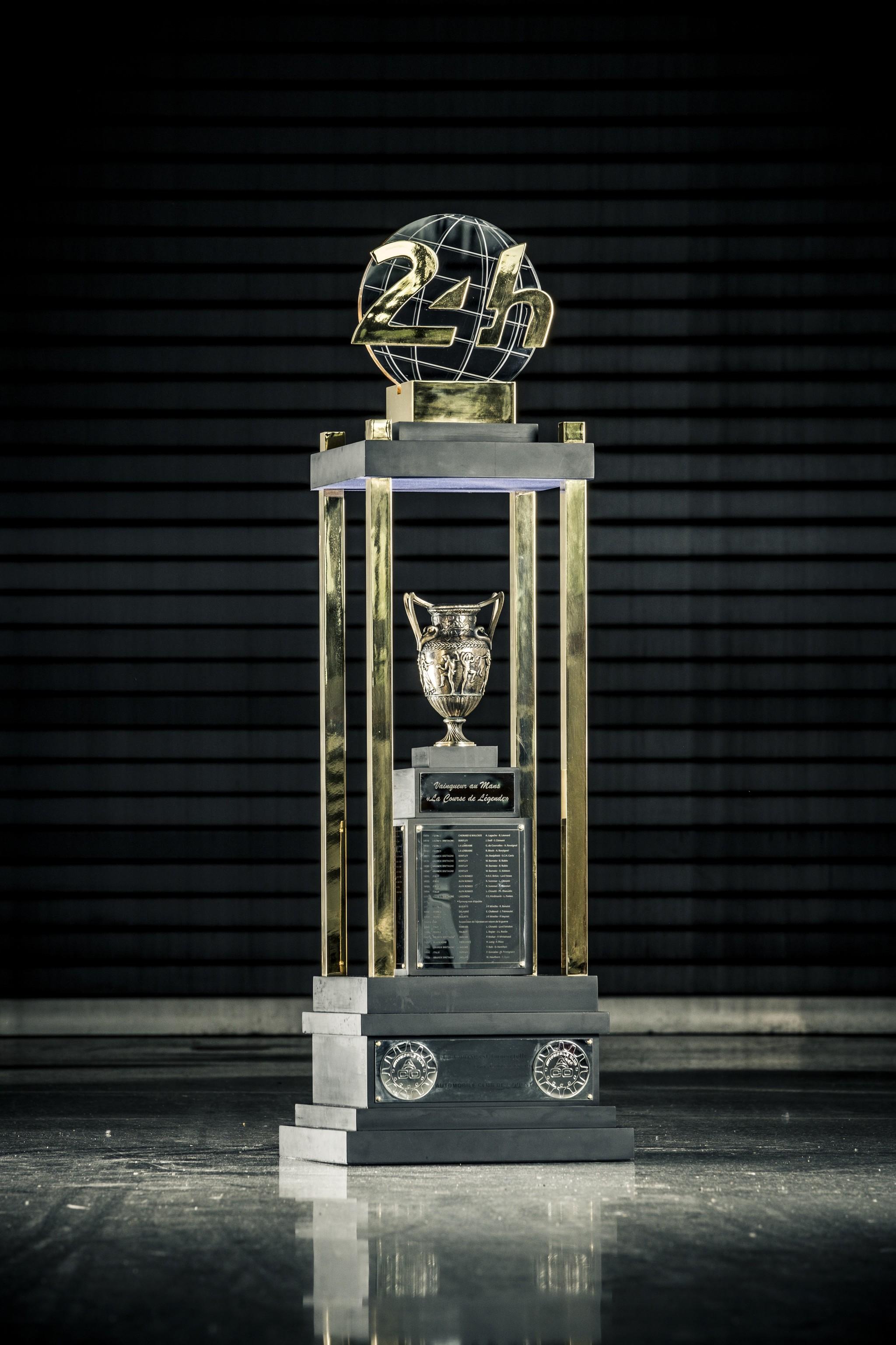 El trofeo será para Toyota en propiedad si logra el hat-trick.