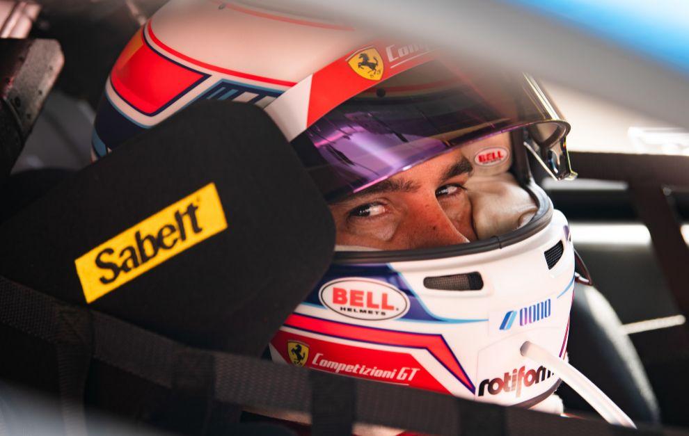 Miguel Molina (Ferrari), baza española.