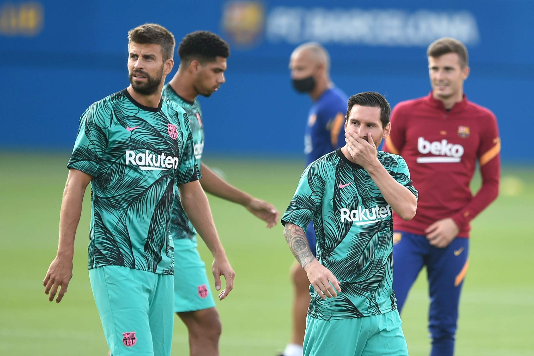 Koeman names front four of Trincao, Messi, Coutinho and Griezmann to face Girona