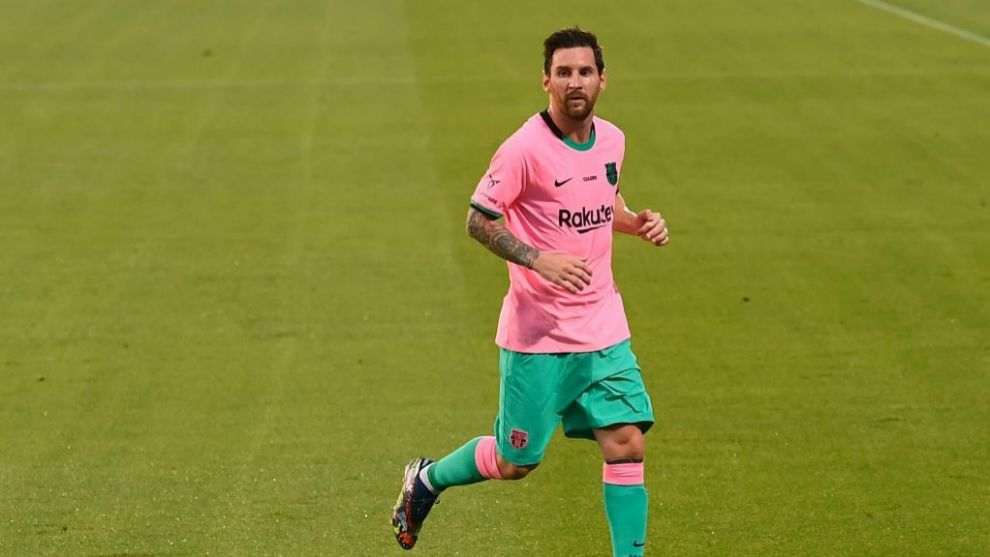 Primer gol de Messi post burofax: ¡derechazo a la escuadra!