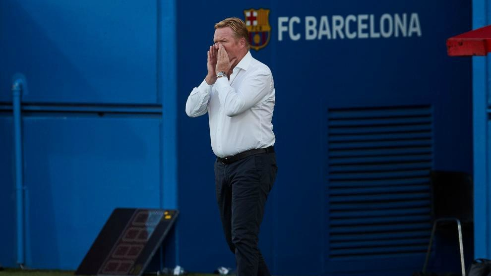 Koeman: Barcelona respect contracts, so if Suarez stays he'll be another player for us