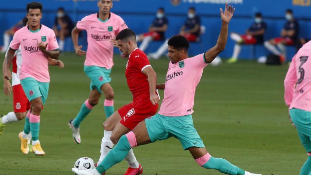 Notes de Barcelone vs Gérone: Araujo est une option fiable à l'arrière