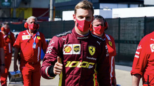 Mick Schumacher, el pasado domingo en Mugello.