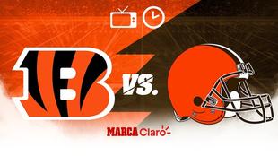 Browns de Cleveland vs Bengals de Cincinnati: Horario y dónde ver.