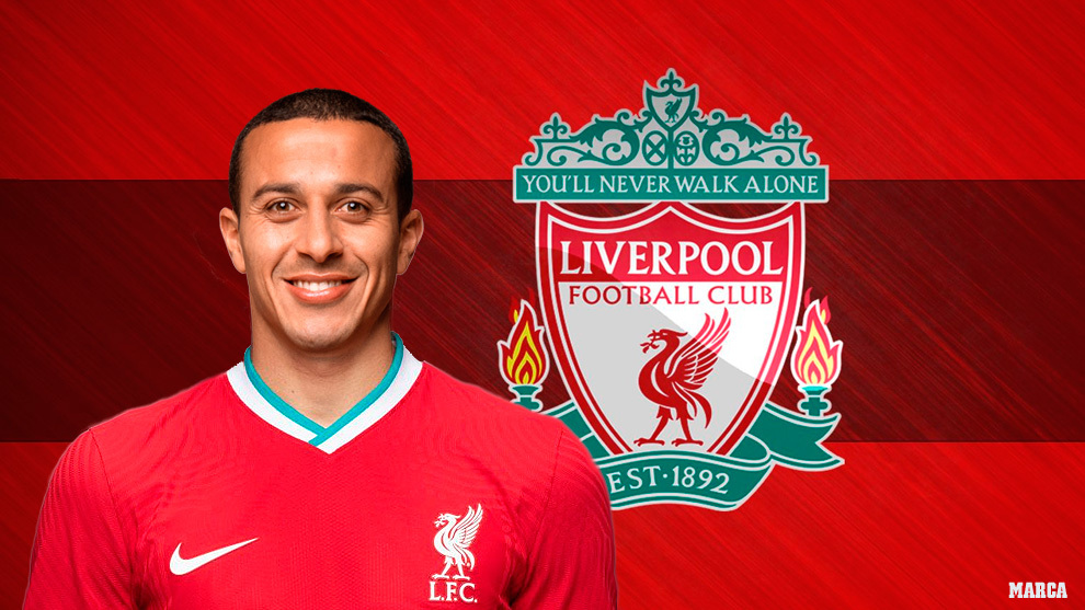 Official: Thiago completes move to Liverpool