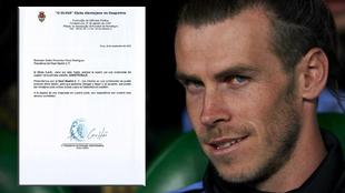 Gareth Bale y la carta que el O Elvas CAD de Portugal envió al Real...