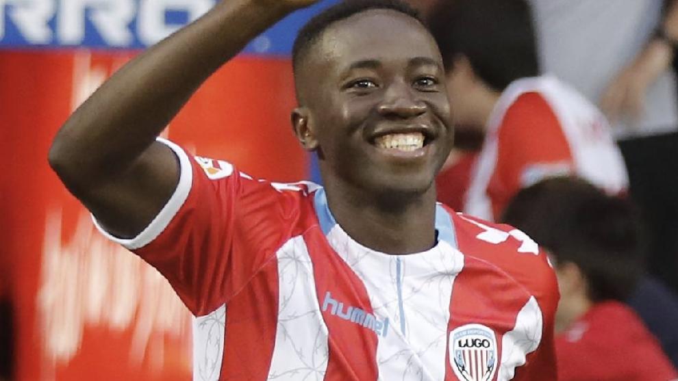 El africano se despidió del Lugo a finales de julio