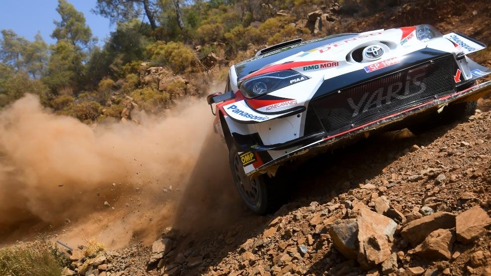 Ogier ganó en marzo el único rally puro sobre tierra celebrado este...