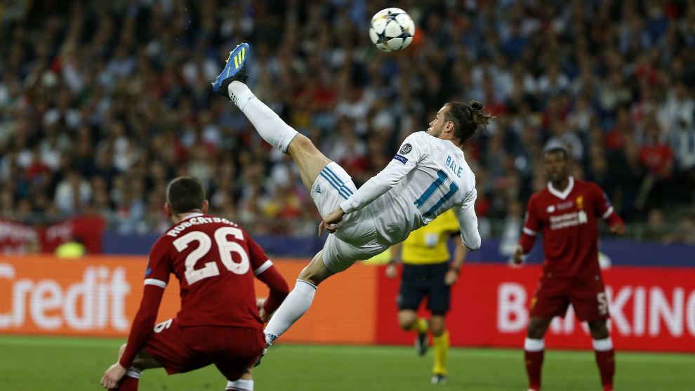 Gol de chilena de Bale en la final de Champions de Kiev