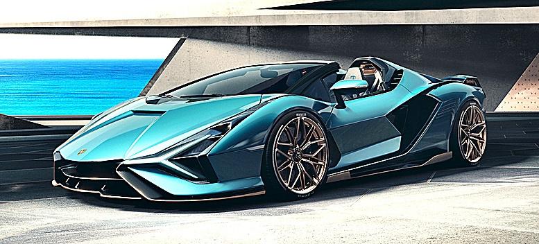 El Lamborghini Sián Cabrio.