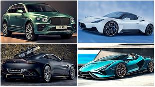 Bentley Bentayga, Maserati MC20, Aston Martin Vantage 007 y...
